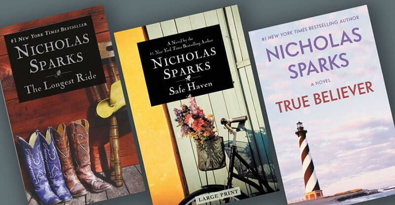 Top Rated Best Nicholas Sparks Books To Read