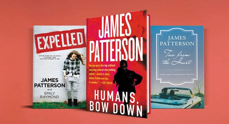 Top Rated Best Selling James Patterson Books To Read