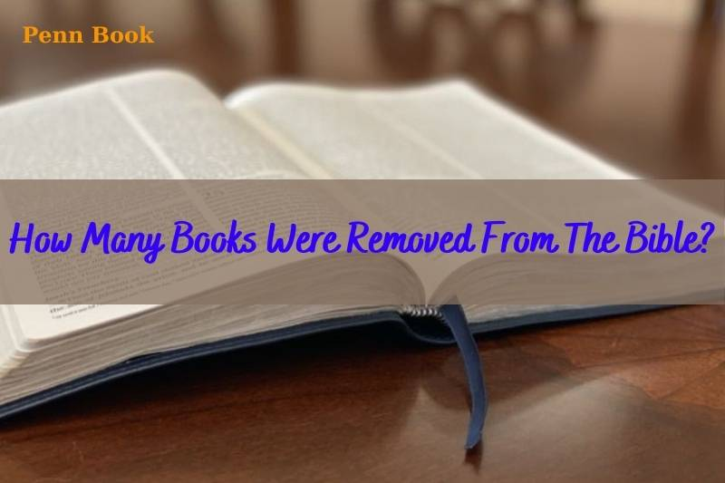 How Many Books Were Removed From The Bible