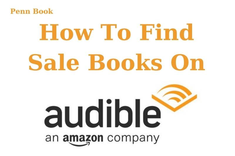 How To Find Sale Books On Audible