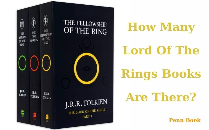 How Many Lord Of The Rings Books Are There