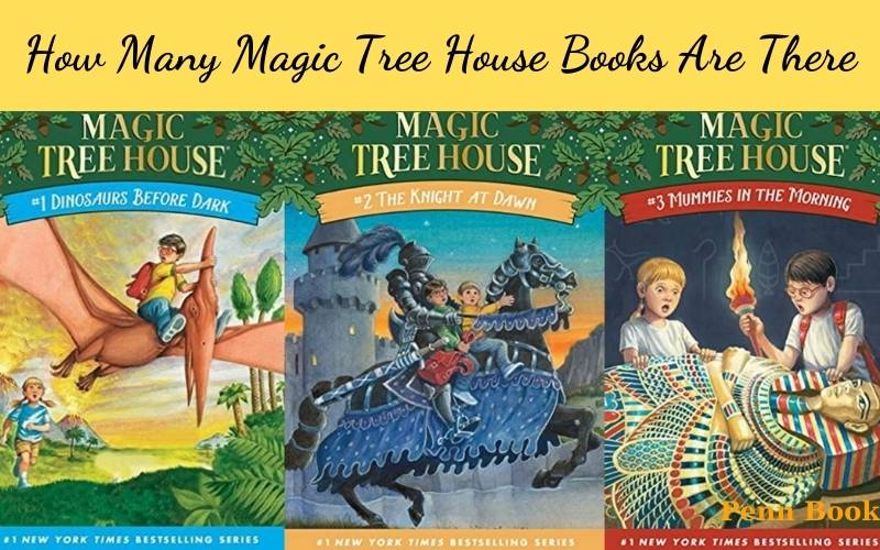 How Many Magic Tree House Books Are There