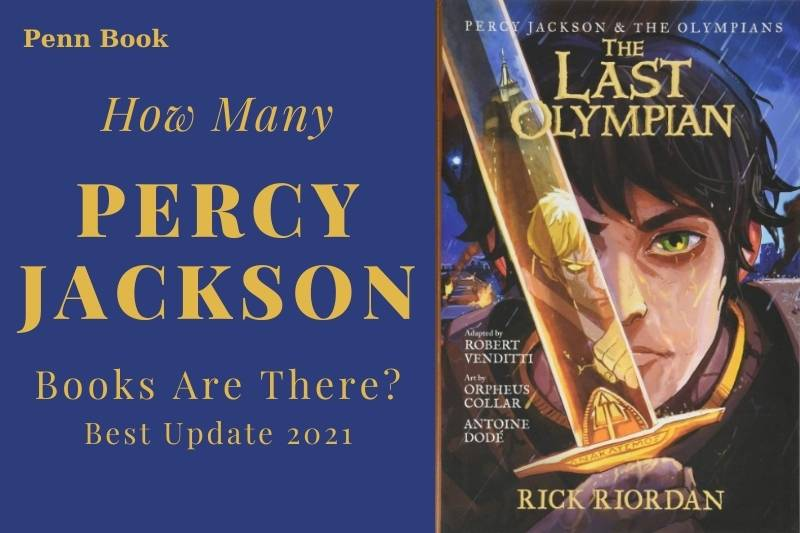 How Many Percy Jackson Books Are There