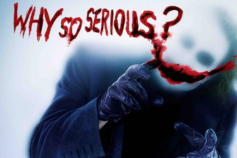 """The Summary of """"why so serious quotes"""""""